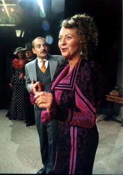 Otakar Brousek ml. a Simona Stašová (Foto archiv divadla ABC)