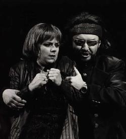 R. Janák a L. Ághová - Don Giovanni (Foto H. Smejkalová)