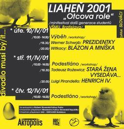 Plakát minifestivalu (Reprofoto Scena.cz)