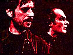 P. Franěk (Faust) a A. Jastraban (Mefistofeles) (Repro Scena.cz)