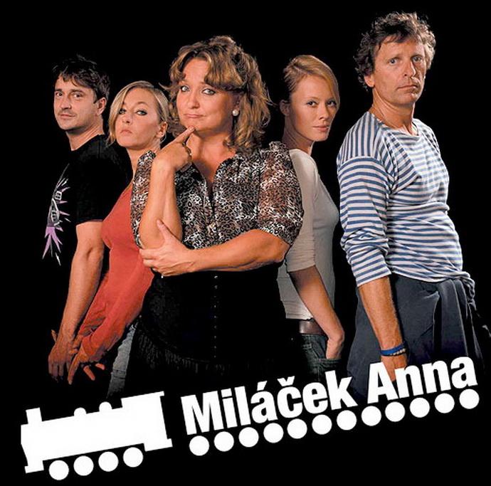 Miláček Anna v divadle Palace