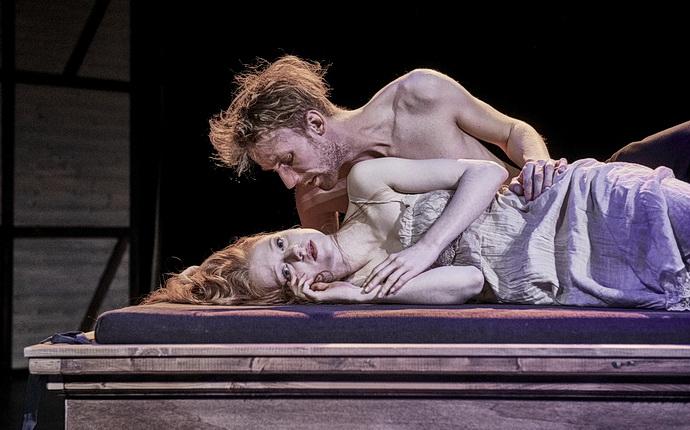 K. Trnková a T. Dianiška  (Zamilovaný Shakespeare)