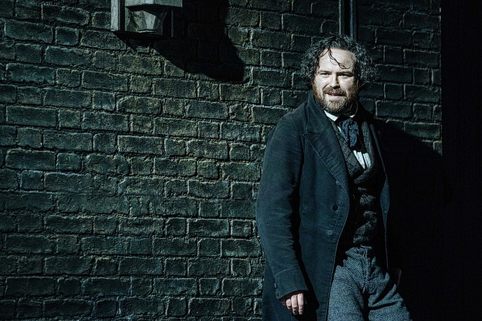 Rory Kinnear (Karl Marx), foto: Manuel Harlan