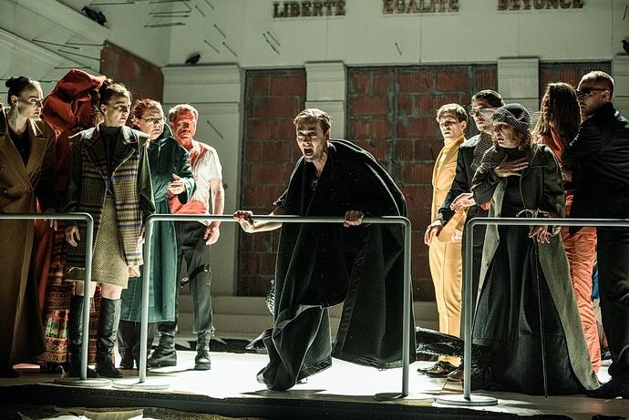 Radúz Mácha (uprostřed) Vítejte v Thébách