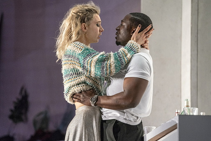 Vanessa Kirby a  Eric Kofi Abrefa (Foto: Richard H Smith)