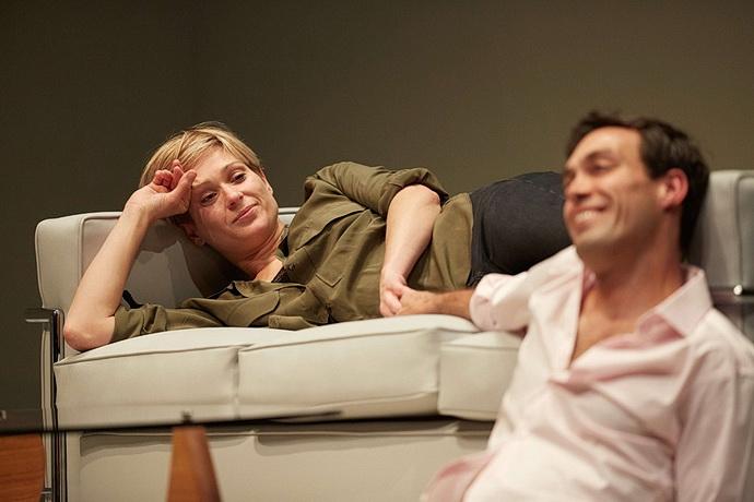Siân Brooke a Alex Hassell (Foto: Mark Douet)