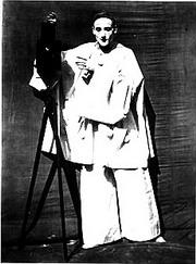 Jean Charles Deburau as Pierrot