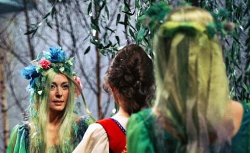 K. Fialová  (Lesní panna)