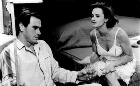 Tommy Lee Jones a Jessica Langeová
