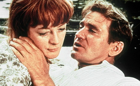 Maggie Smith a Rod Taylor (Mladý Cassidy)