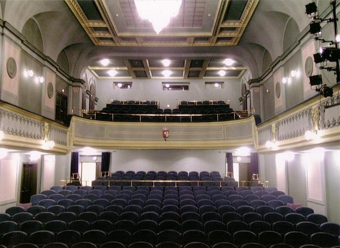 Hlediště Divadla pod Palmovkou