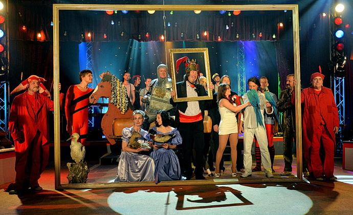 Manéž Bolka Polívky – klaun slaví 70