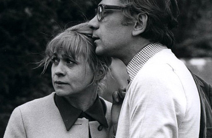 Jiřina Třebická a Per Čepek (Holka vítr)