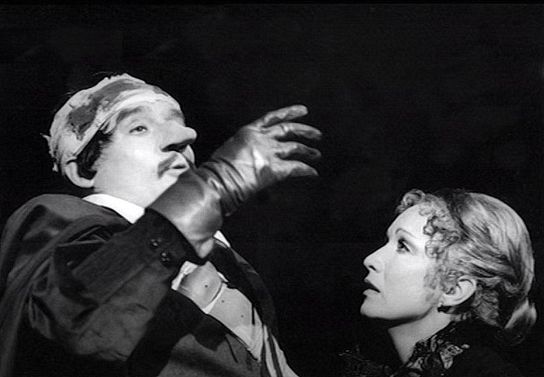 Jaromír Hanzlík a Hana Maciuchová (Cyrano z Bergeracu)
