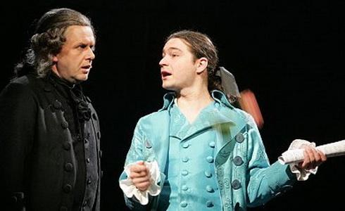 Z inscenace Amadeus