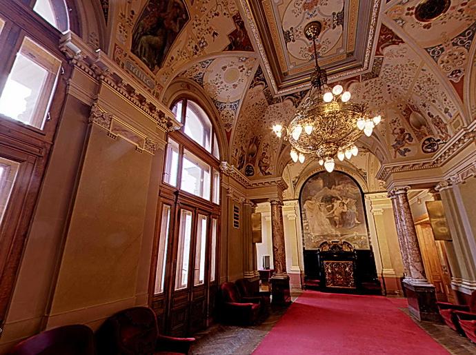 Divadlo J. K. Tyla - interiér