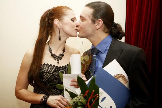 Petra Janečková a Ladislav Špiner (Zdroj: J. Sejkora)