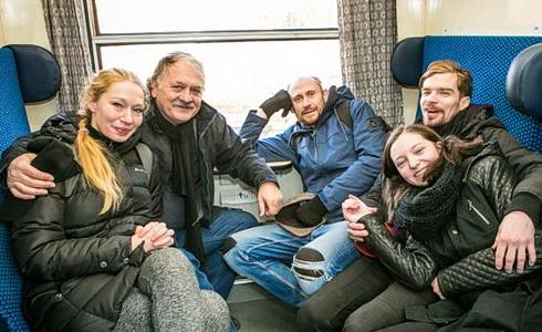 B. Pavlíková, M. Hruška a další (Foto: M. Hančovský)