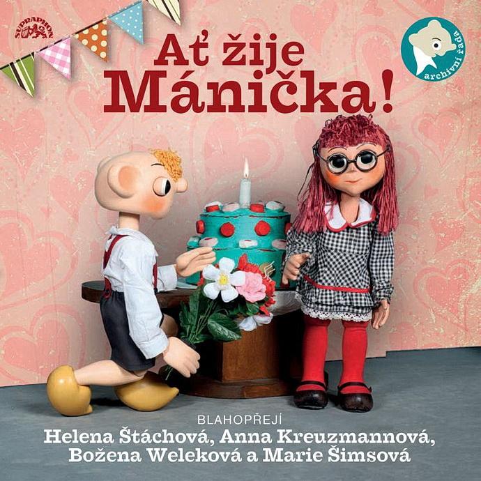 Přebal alba Ať žije Mánička!