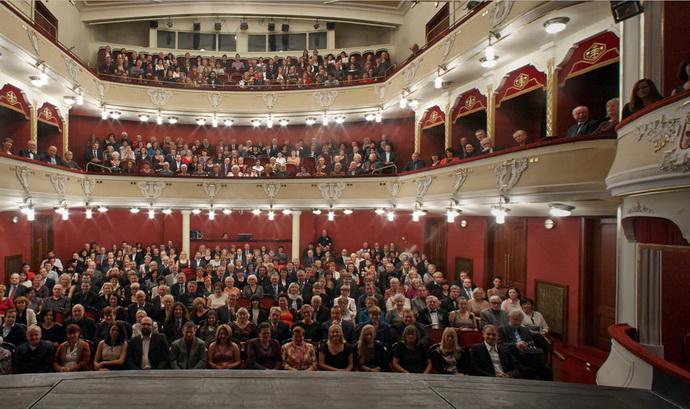Hlediště Východočeského divadla Pardubice