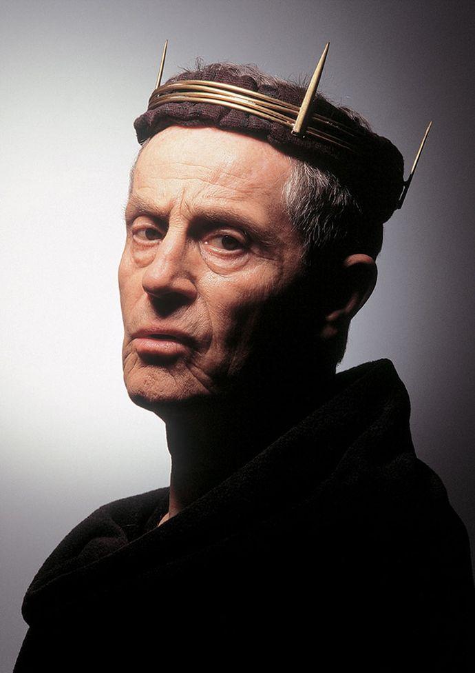 Jan Tříska coby Král Lear
