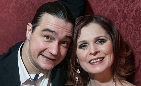Oceněný pár Láďa Špiner a Petra Janečková