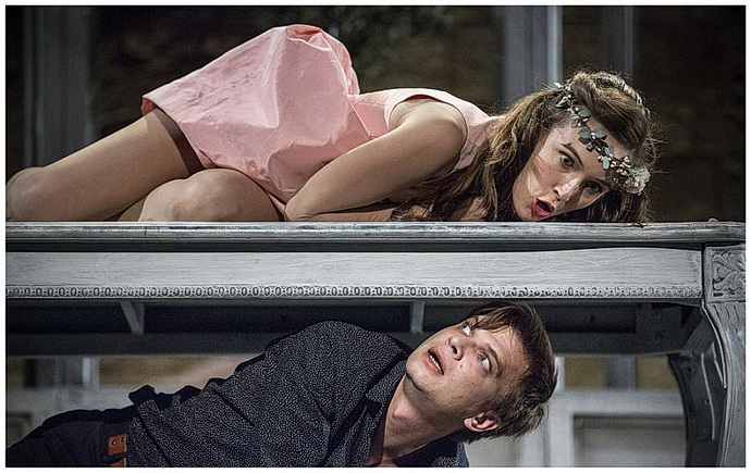 Tereza Voříšková a Jan Sklenář (Romeo a Julie)