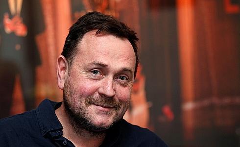 Martin Františák v kavárně ŠD (Foto: Jiří Vaněk)