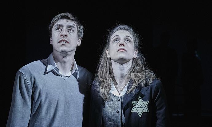 Pavel Neškudla a Marie Poulová (Romeo, Julie a tma)