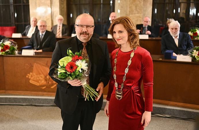 Stanislav Moša a Markéta Vaňková