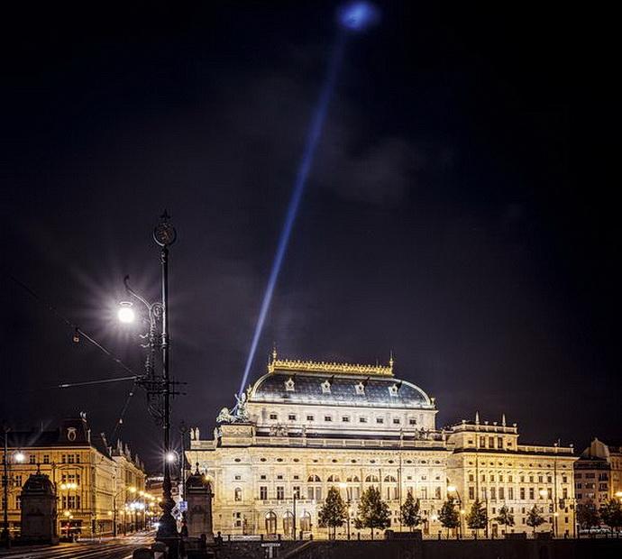 Majáky české kultury - ND Praha (Foto: Lukáš Wagneter)