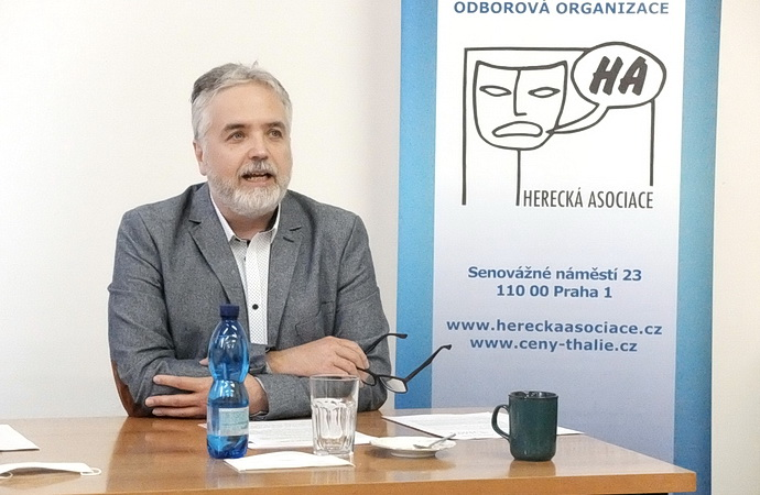 Ondřej Kepka, prezident HA.