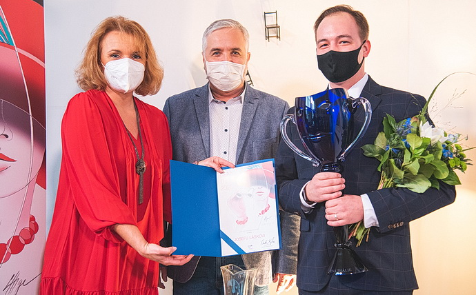 Bára Munzarová, Ondřej Kepka a Josef Láska