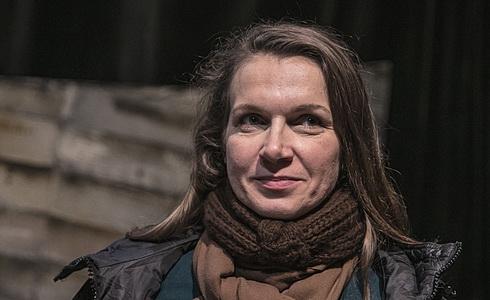 Martina Sikorová, která ztvární Boženu Němcovou