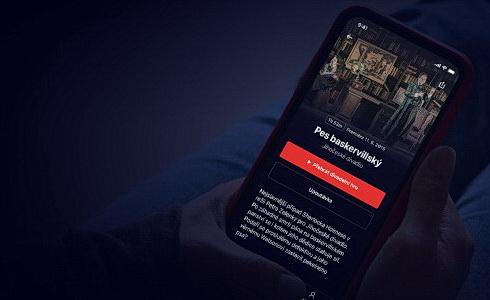 Divadelní videoportál Dramox aplikace v mobilu