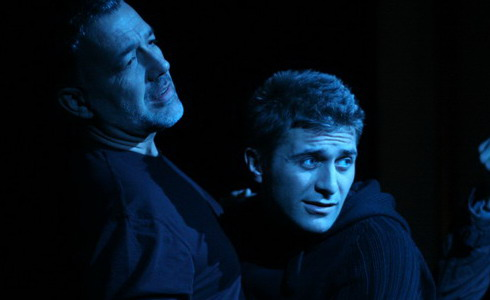 P. Novotný, J. Pejchal a J. Musil (Hamlet)