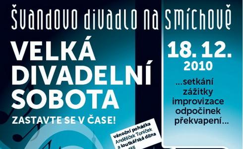 Velká divadelní sobota ve Švandově divadle