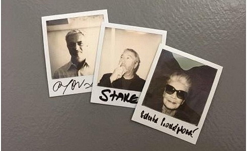 Divadlo pod Palmovkou - Polaroid