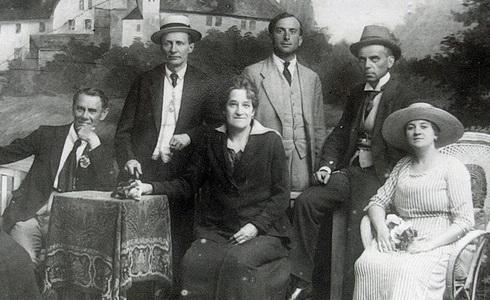 Členové činohry 1910