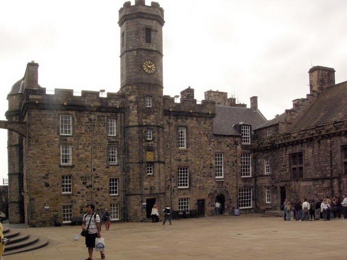 Hrad v Edinburghu