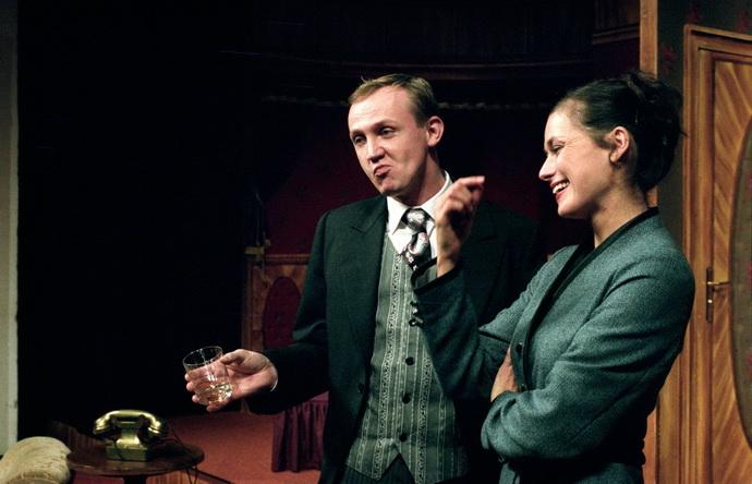 M. Němec s L. Štěpánkovou v komedii Úžasná svatba