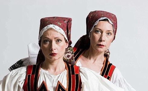 Gabriela Míčová a Lucie Roznětínská (Královna duchů)