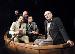 Z inscenace Tři muži ...
