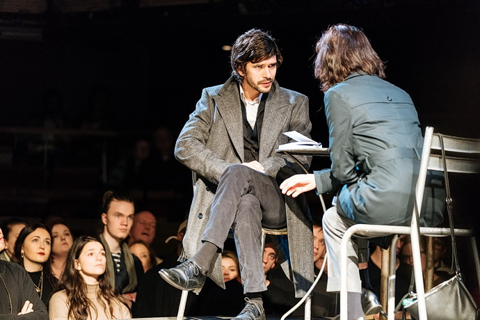 Ben Whishaw a Michelle Fairley (Foto: Manuel Harlan)