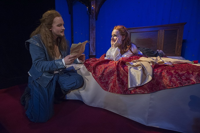 Josef Láska a Jana Ondrušková ( Zamilovaný Shakespeare)