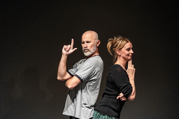 Petr Fejk a Ivana Chýlková (Bond/Medea)