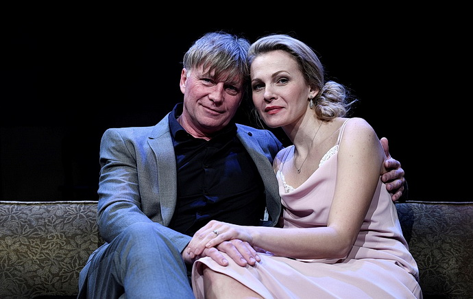 Michal Dlouhý s  Michaelou Badinkovou