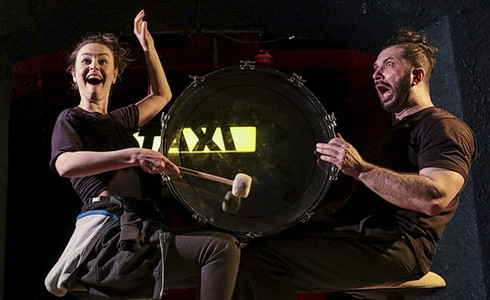 Taxi Bratislava (tekutá realita) - Divadlo GUnaGu
