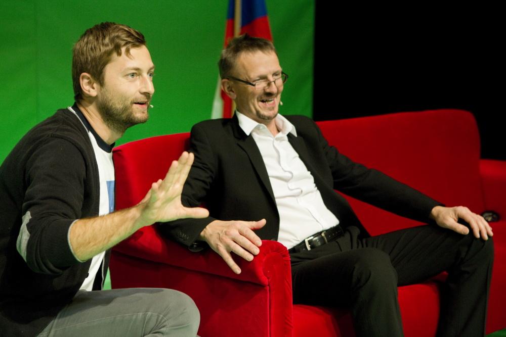 Marek Příkazký a Zdeněk Julina (Jednou budem dál)