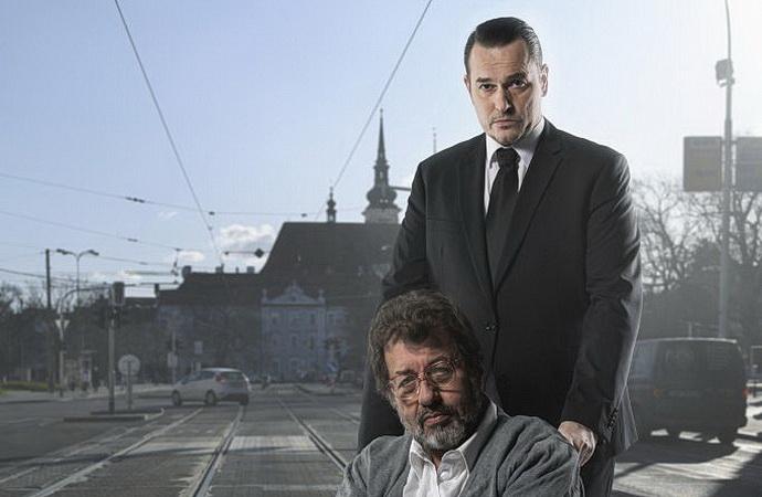 P. Štěpán a Z. Junák (Ztracený ráj - vizuál MdB)